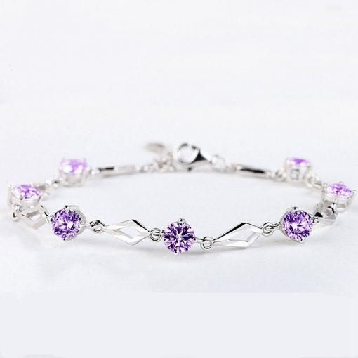Bracelet Amethyste