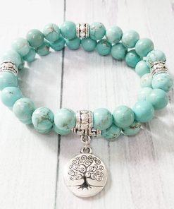 Bracelet Avec Pierre Turquoise