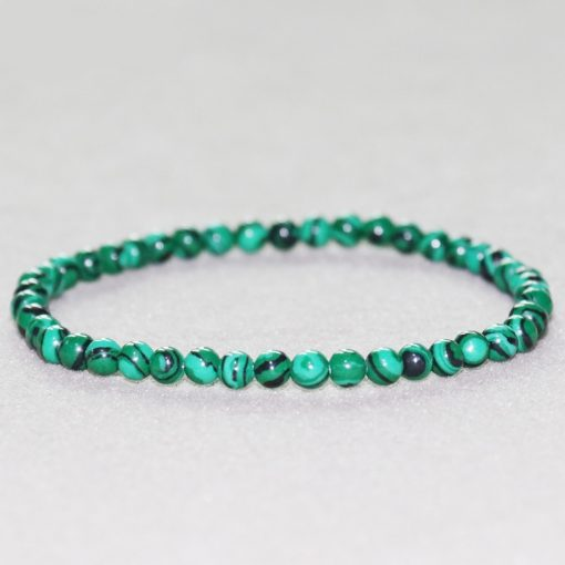 Bracelet Malachite Veritable
