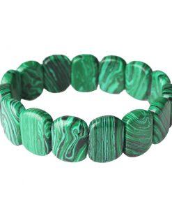 Bracelet Malachite Femme