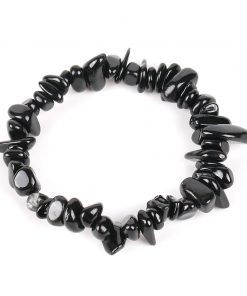 Bracelet Baroque Tourmaline Noire