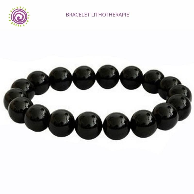 Bracelet Tourmaline Noire Brute