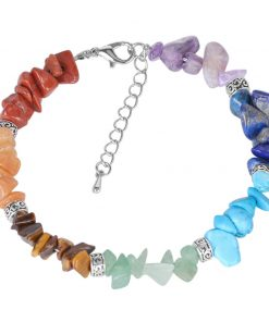 Bracelet 7 Chakras Pierre Veritable