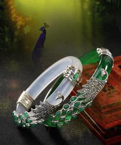 Bracelet Jade Vert