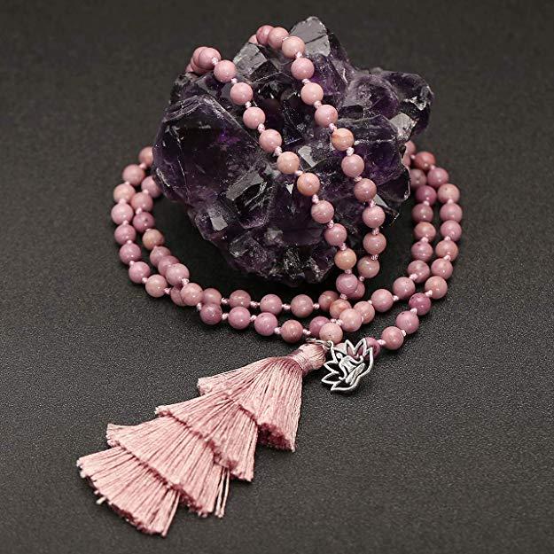bracelet mala et perles mala