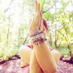 bracelets bouddhiste pierres naturelles