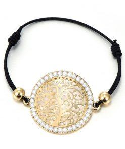 Bracelet Jonc Arbre De Vie