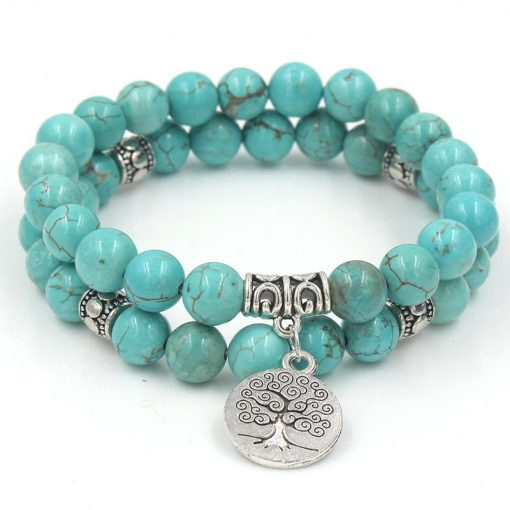 Bracelet Arbre De Vie En Argent