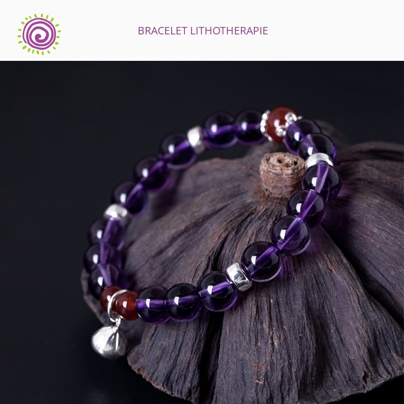 Bracelet Amethyste Lithotherapie