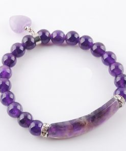 Bracelet Amethyste Pas Cher