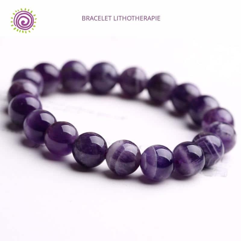 Bracelet Amethyste Veritable