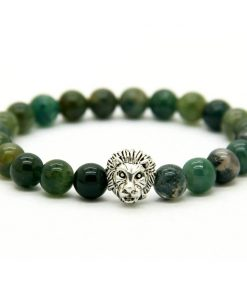 Bracelet Labradorite Verte