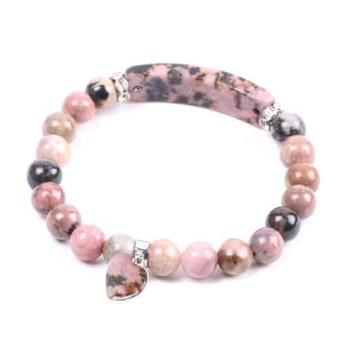 Bracelet De Quartz Rose Sérénité