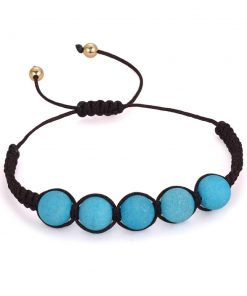 Bracelet Homme Bleu Turquoise