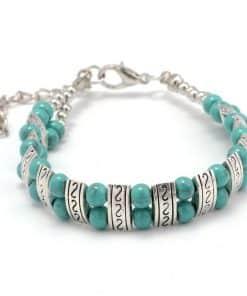 Amazonite En Bracelet