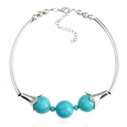 Bracelet Amazonite Chaine