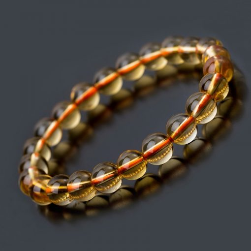 Bracelet Citrine Lithothérapie
