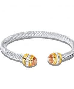 David Yurman Citrine Cable Bracelet