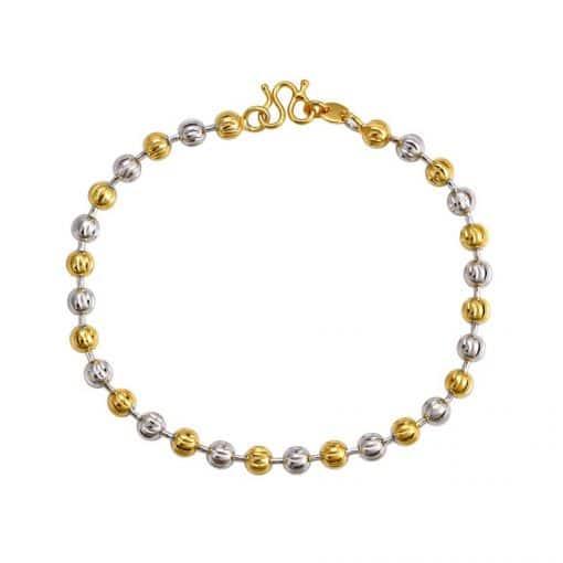 Histoire D'or Bracelet Perle De Culture