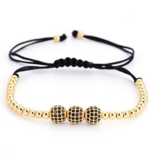 Bracelet Perle Homme Histoire D'or