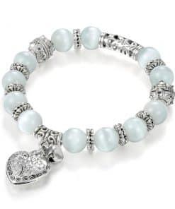 Bracelet Perle Oeil De Chat