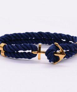Bracelet Avec Une Ancre Femme