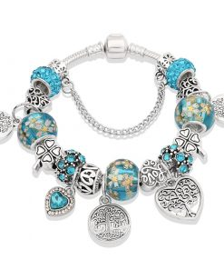 Charm Swarovski Bracelet