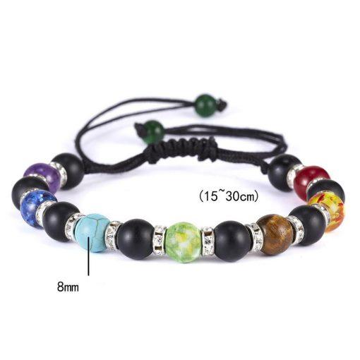bracelet de guerison 7 chakras