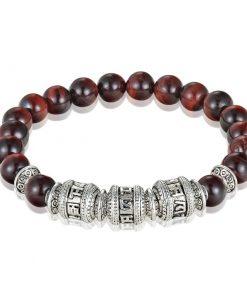 Bracelet Tibetain Oeil Du Tigre