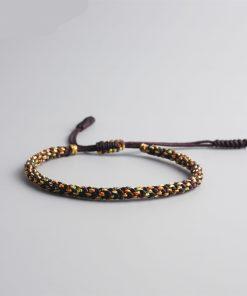 Bracelet Coton Bouddhiste