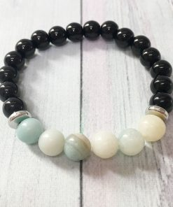 Bracelet Amazonite Tourmaline