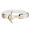 Bracelet Ancre Marine Femme Argent