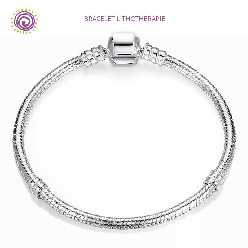 bracelet argent pour charms