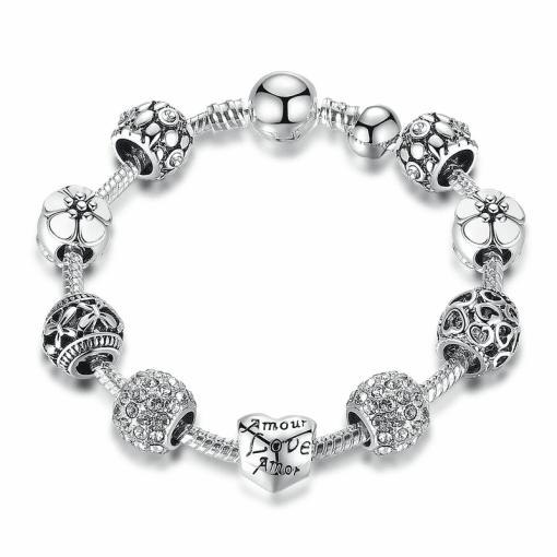 Bracelet Charme Argent