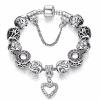 Bracelet Charms Argent Pas Cher
