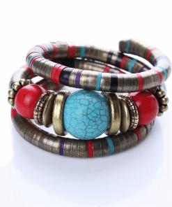 Bracelet Ethnique Turquoise