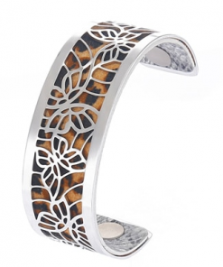Bracelet Georgette Girafe Argent