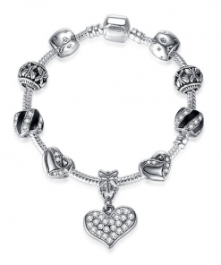 Bracelet Jonc Avec Charms