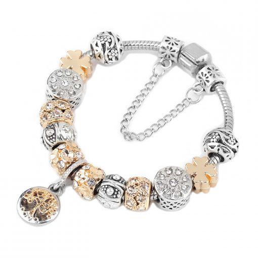 Bracelet Or Arbre De Vie