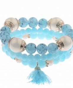 Bracelet Pierre De Lune Bleue
