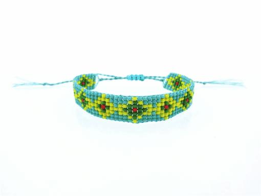 Bracelet Tissé Perle
