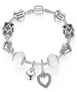 Charme Bracelet Argent