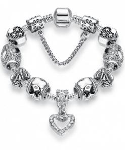 Charms En Argent Pour Bracelet