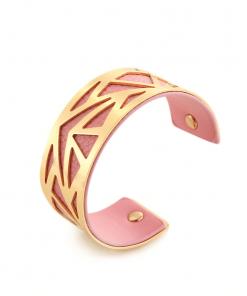 Bracelet Georgette Or Rose