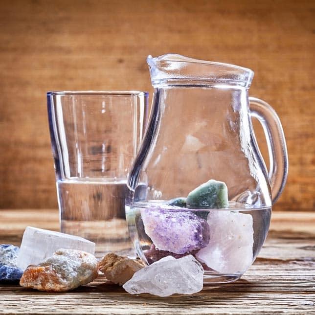 purifier ses pierres chakras