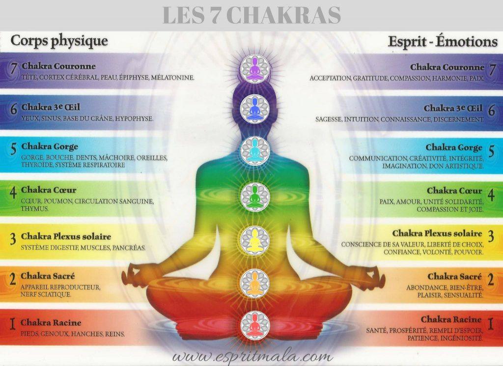 signification des 7 chakras