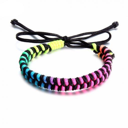 Bracelet Tissu Camping
