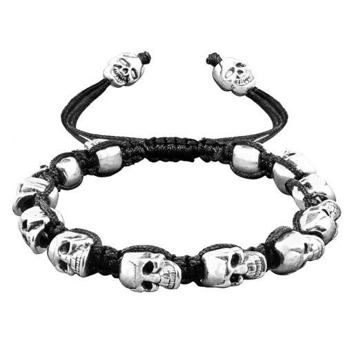 Bracelet Shamballa Crane