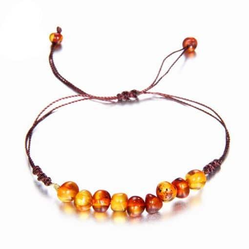 Bracelet Shamballa Ambre