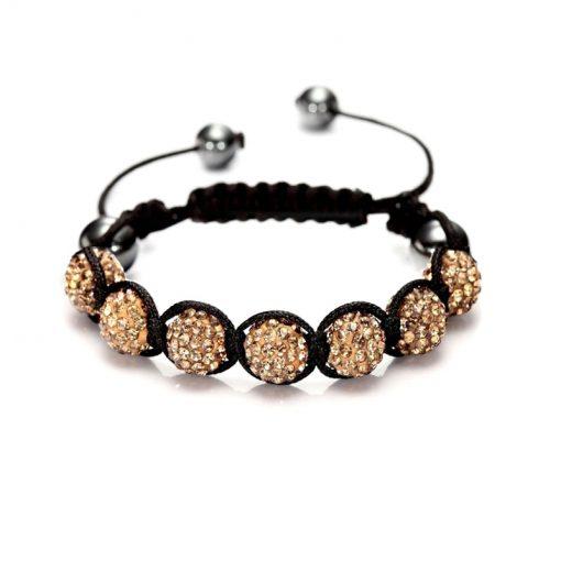 Bracelet Macramé Shamballa